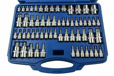Bergen 60PC Torx Bit Socket & E Torx Set 1298