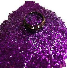 3ml Nail Art - Glitterfäden (0,2x4mm) in Zip Tüte, Purple, Lila, Nr. 808-018