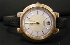 CITIZEN ELEGANCE WOMENS WATCH DATE GOLDTONE CASE LEATHER BAND FOR REPAIR OR PART