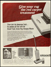 1967 Vintage Ad for Bissell Triple Action Rug Shampoo Master (011412)