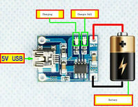5V Mini USB 1A Lithium Battery Charging Board Charger Module NEW