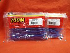 "#006-285 Plum Crazy 20cnt Zoom 6.5/"" Trick Worm 2 Pcks"