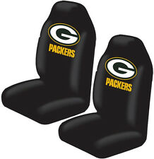 2pc Green Bay Packers High Back Seat Covers