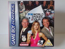 Gameboy Advance juego-World Poker Tour (con embalaje original)