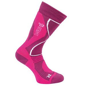 Dare 2B Ski Socks Skiing Adult Women's Wool Construct Technical Socks - New