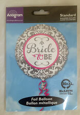 "17 "" BRIDE TO BE FOIL HELIUM BALLOON LOVELY DESIGN HEN PARTY BRIDE TO BE 43CM"