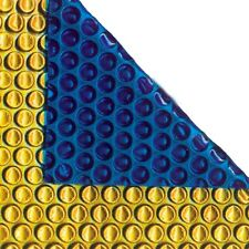 24ft x 12ft Gold/Blue 500 Micron Swimming Pool Cover Solar Heat Retention