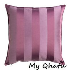 "Cushion Cover 20 x 20""  Striped IKEA Henrika IKEA LILAC Purple  NEW"