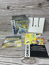Pokemon Silver Game boy Color Authentic Box & Manual ONLY