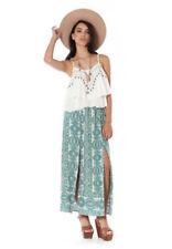 Regular Size Animal Print Long Skirts for Women