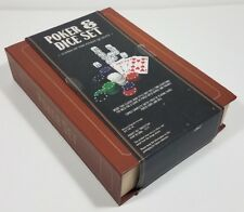 NIP Poker & Dice bookshelf game set George Hardy Group Fine Quality Games