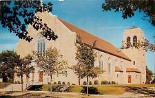 Alexandria MN St Marys Roman Catholic Church~Young Growing Trees~1950s Postcard