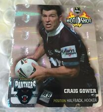 Nrl Rugby League 2006 Hot Shot Silver Tazo 13 Craig Gower Panthers Tazos Cards