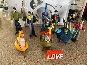 McFarlane Toys The Beatles Series The Yellow Submarine Loose Bundle 11 pieces