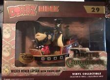 Funko Pop Dorbz Wicked Captain Ship Disney Treasures Pirates Of The Caribbean
