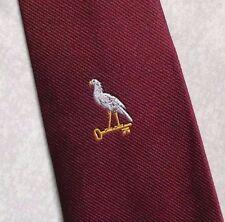 Bird & Clave De Oro Vintage Retro Corbata Borgoña Club sociedad por lazos Tudor 1980s