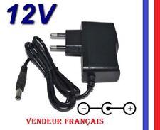 Chargeur adaptateur d'alimentation AC DC 12V 1A  : Entrée 110-240V