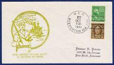 US-NAVY - Schwerer Kreuzer USS BREMERTON - Sonderumschlag - 1946