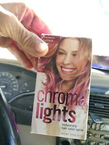 Chroma Lights Temporary Hair Color Spray, Metallic Fuschia, 1.5 oz