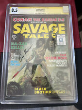 SAVAGE TALES #1 (1971) CGC SS 8.5 WP Roy Thomas 1ST APPEARANCE OF MAN-THING