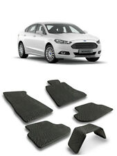 EVA Car Floor Mats Heavy Duty All Weather Odorless For Ford Mondeo V 2014-