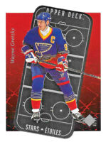 1995-96 Wayne Gretzky Upper Deck SP Stars Etoiles Die Cut - St. Louis Blues