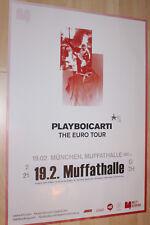 Playboi Carti Tourplakat/Tourposter 2018 - Muffathalle München