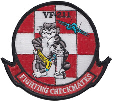 Fighter Squadron 211 Vf-211 United States Navy USN Embroidered Patch