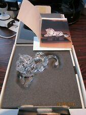 Swarovski jaarstuk Leeuw incl. doos & certificaat