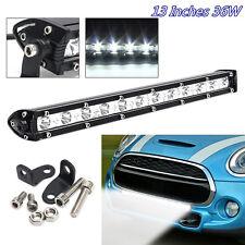 "13"" 6000K 36W CREE LED Spotlight Autos SUV 4X4 Working Light Bar Waterproof Lamp"