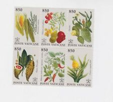 vatican 1992 Sc 910 block of six,MNH,plants..         m1162