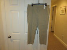 NWT!!  Crown and Ivy Beige Spanex Casual Pants - 20W