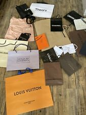 Designer Gift Shopping Bags Luis Vuitton Hermes Dior Chanel Burberry Bvlgari Miu
