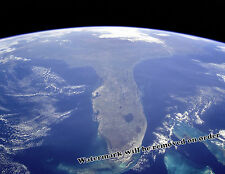Photograph NASA 1998 United States Space Image of Florida 11x14
