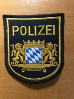 GERMANY PATCH POLICE POLIZEI BAYERN BAVARIA - ORIGINAL!