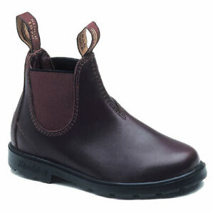 Kids Blundstone brown leather Boots 530