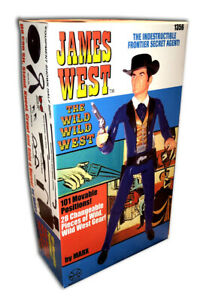 Marx JAMES WEST of WILD WILD WEST (BOX ONLY) Best of the West