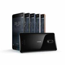 "NEW *BNIB*  Nokia 6 2017 32/64GB 5.5"" ANDROID GLOBAL DUAL UNLOCKED Smartphone"