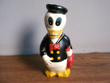 "Rare old vintage, ""WALT DISNEY"" Donald duck Sailor piggy bank of 60's.."