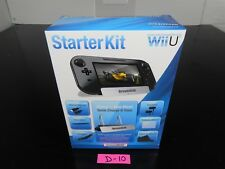 NINTENDO WII U STARTER KIT CHARGE & VIEW STAND DREAMGEAR 7-IN-1 D-10