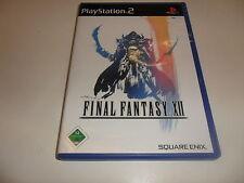 PlayStation 2 PS 2 Final Fantasy XII