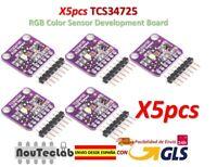 5pcs TCS34725 Color Sensor RGB Color Sensor Development Board 34725 CJMCU-34725