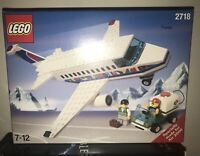 SEALED LEGO SET 2718 AIRPORT AIRPLANE AND GROUND CREW FROM 1998 MISB UNOPENED