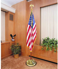 Base Stand for Flag Indoor Outdoor Flag Stands for Large Flags Pole Base Gold