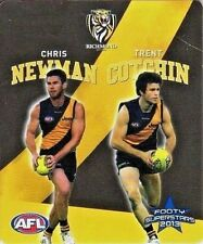 2012-2013 TRENT COTCHIN-CHRIS NEWMAN SUNBLEST #45 RICHMOND TIGERS  FOOTBALL TAZO