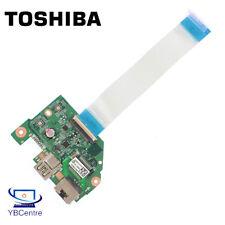 Toshiba Satellite L50-C USB LAN Port Board & Ribbon DA0BLQPC6H0 *warranty*