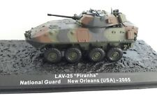 "Blindé 1/72 - USA LAV-25 ""Piranha"" Garde Nationale 2005 - comme neuf"