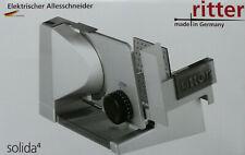 Ritter elektrischer Allesschneider solida4 Multischneider Brotmaschine / NEU!