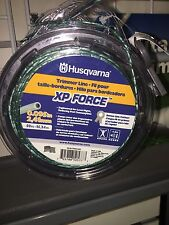 "Husqvarna XP Force Trimmer Line Commercial Grade .095"" 50' Donut Green Made USA"