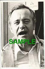 ORIGINAL PRESS PHOTO - ACTOR JACK LEMMON PHOTOGRAPHED DURING LONDON VISIT 1973